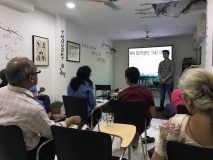 Truth About Drugs program at Art Hub, South Extension